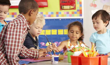 Time spent teaching art in kindergarten declined significantly between 1998 and 2010.