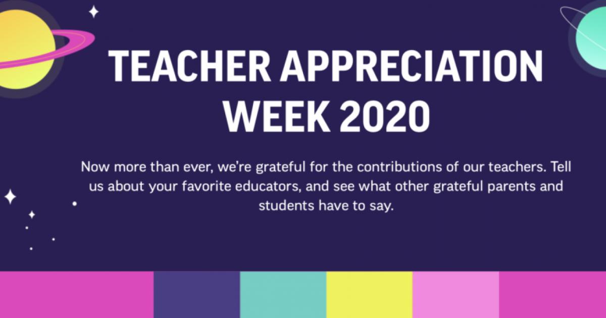 On Teacher Appreciation Day Parents Are More Grateful Than Ever Nea
