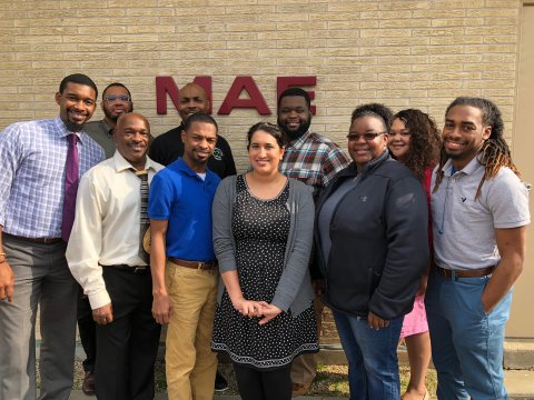 This ECLL cohort focused on identifying, engaging, and retaining black male educators in the profession. The cohort also focused on coaching around professional and social emotional issues.