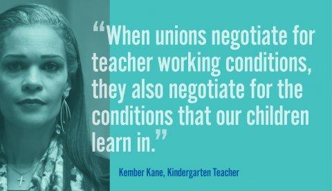 Kember Kane, Kindergarten Teacher