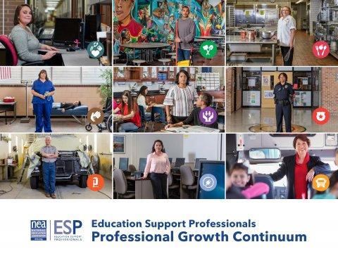 ESP Professional Growth Continuum Cover