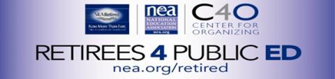 NEA-Retireds4PublicEd logo
