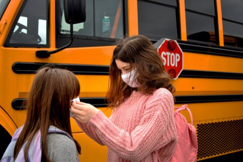 school bus facemasks