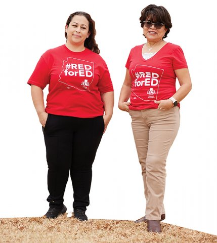 Nancy Arvizo and Esmeralda Maldonado