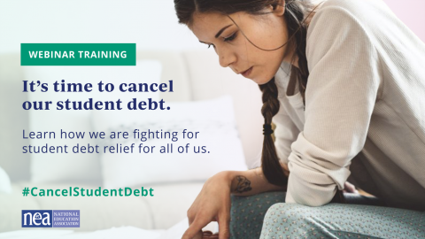 Join our webinar on breaking student debt news.