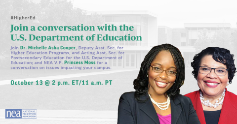 Join a conversation with the Dept. of Education